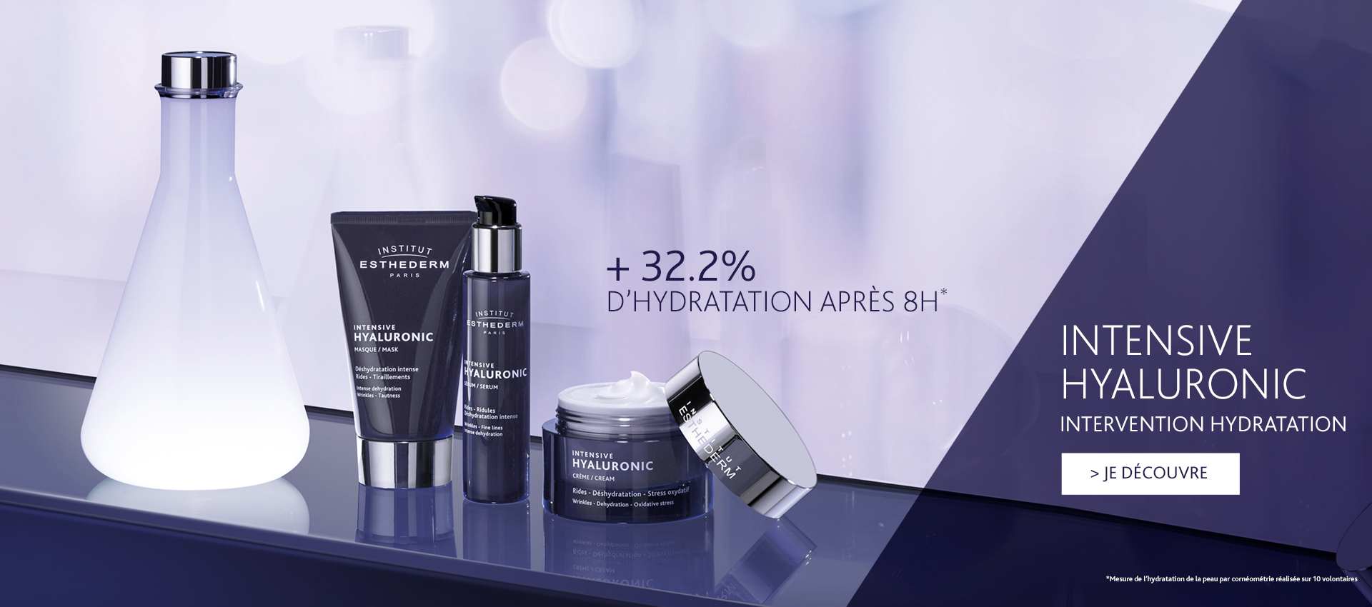 Intervention hydratation - Intensive Hyaluronic